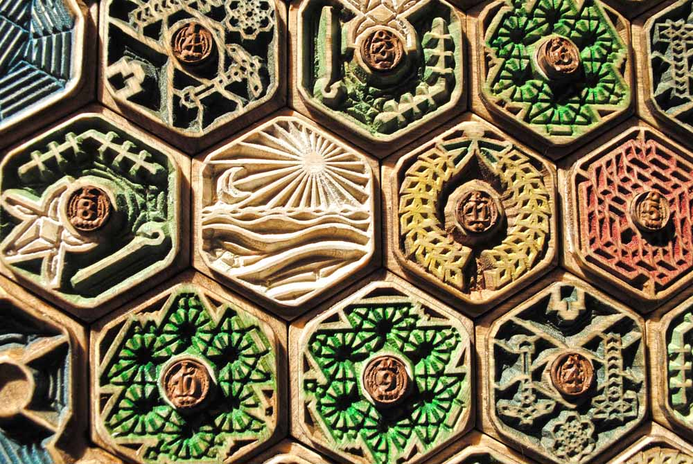 Detailed Wood Carving